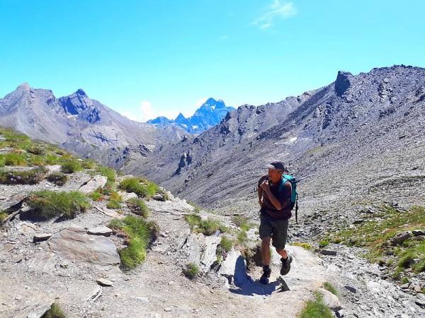 Col de Chamoussière et Mont Viso - raid des refuges du Haut Queyras