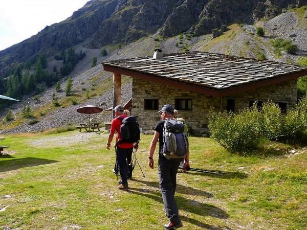 Au refuge du Pré de la Chaumette  - GR54 Tour Ecrins 4 jours