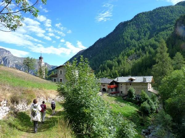 Village de Chialvetta - Percorso Occitano (Sentier Occitan) en Val Maira