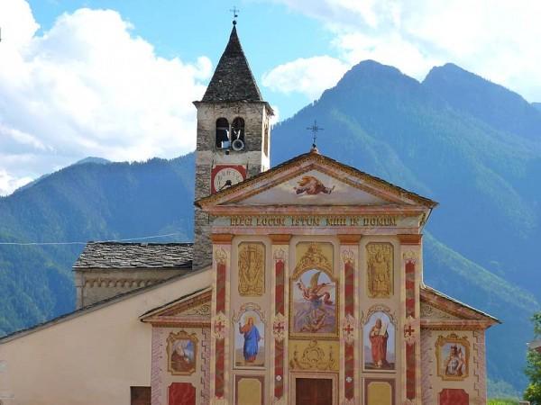 Eglise San Michele di Prazzo - Percorso Occitano (Sentier Occitan) en Val Maira