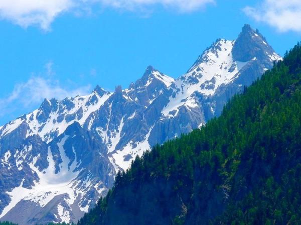 La Font Sancte (3385 m) depuis Ceillac - Point Culminant du Queyras