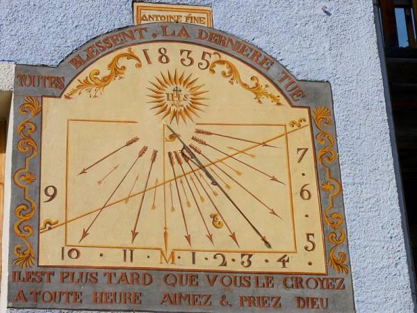 Cadran Solaire typique du Queyras