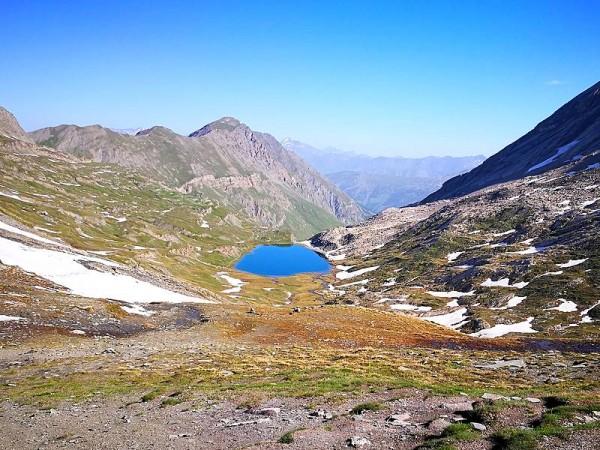 Lac Foréant au début de l'été