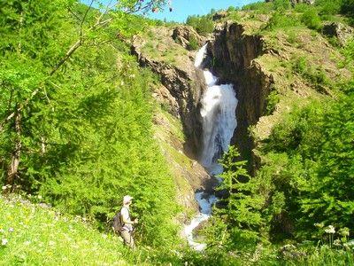 cascade de Dormillouse - Parc National des Ecrins