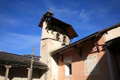 Eglise de Ceillac - Parc Naturel Régional du Queyras