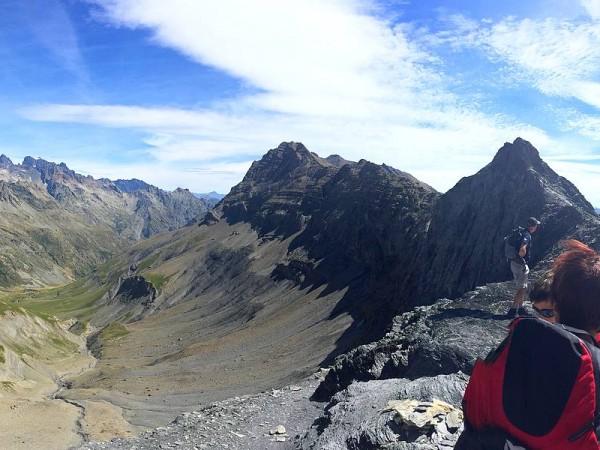 Col de l'Aup Martin - Tour des Ecrins GR54 en Gîtes et refuges en 6 jours