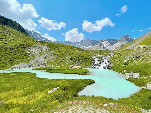 Lacs du Glacier d'Arsine - GR54 - Tour des Ecrins