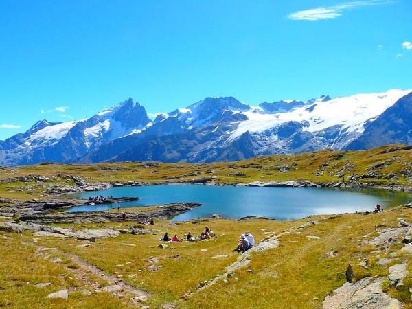 lac Noir et Pic de la Meije