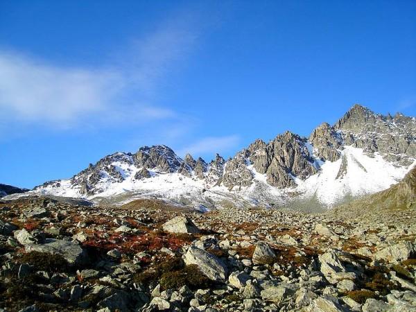le Mont Viso depuis refuge du Viso