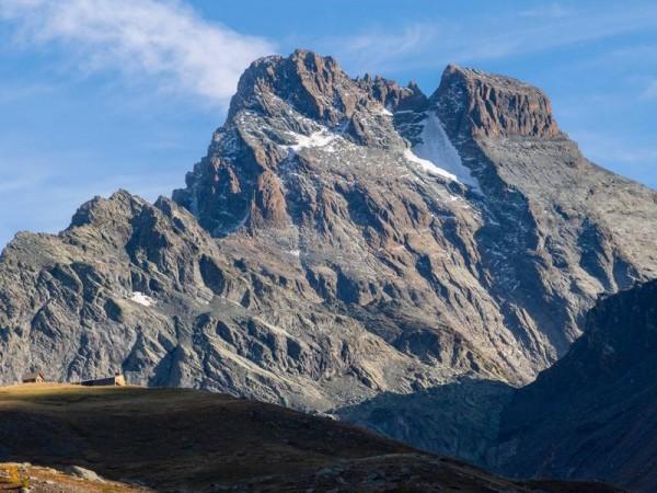 Mont Viso et refuge du même nom