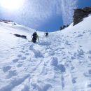 Gde Taversée du Queyras (Ski)  - Grand Paradis (Ski) - Dome des Ecrins (Crampons)  en 2013 - Ski de couloir en 2014