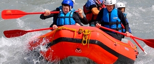 Rafting, Canyoning, Parapente, Accrobranche, Marche sur Glaciers ...