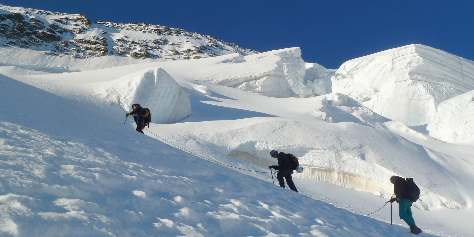 Stages randonnées Haute Montagne Ecrins