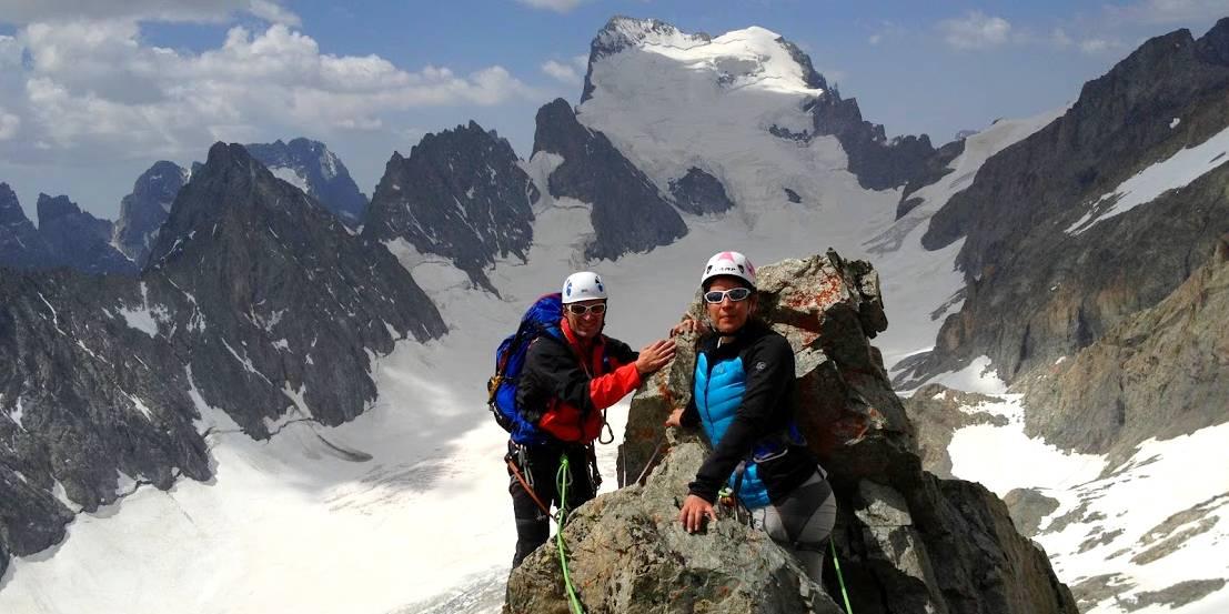 Tous les stages alpinisme Ecrins